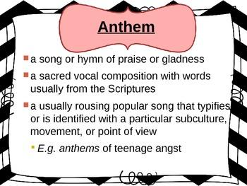 A. Rand's Anthem (PowerPoint Novel Study)