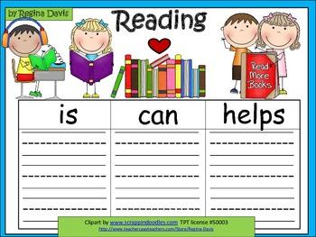 A+  Reading ... Three Graphic Organizers