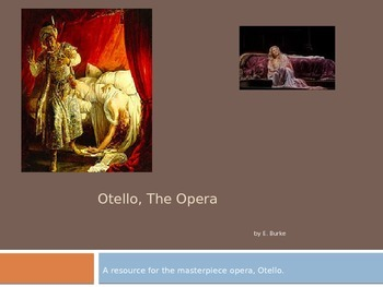 A Resource For The Opera Otello