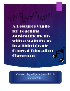 A Resource Guide for Teaching Musical Elements with a Math