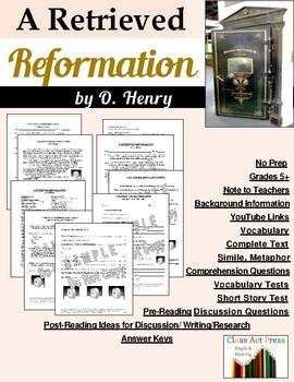A Retrieved Reformation: Study Guide for O. Henry's Story