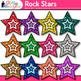Music Clip Art Bundle {Guitars, Microphones, CDs, Tapes, R
