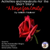 """Activities and Handouts for the Short Story """"A Rose for Emily"""""""