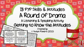 A Round of Drama Understanding the IB Attitudes Speaking a