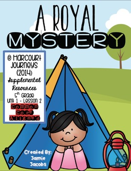 A Royal Mystery (Journeys 5th Gr. - Supplemental Materials)