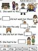 A+ Ruby Bridges Sentences: Fill In The Blank