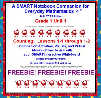 A SMART Notebook Companion for Everyday Math 4 2014 CCSS E