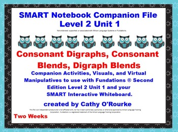 A SMARTboard Second Edition Level 2 Unit 1 Companion File