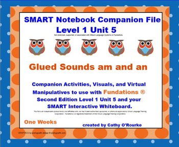 A SMARTboard Second Edition Level 1 Unit 5 Companion File