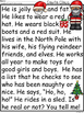 A+ Santa Claus Comprehension:Differentiated Instruction Fo
