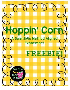 A Scientific Method Activity Hoppin' Corn FREEBIE