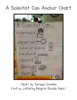 A Scientist Can Anchor Chart