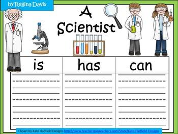A+  Scientist: Three Graphic Organizers