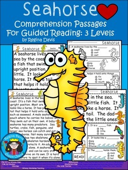 A+ Seahorse.... Comprehension: Differentiated Instruction