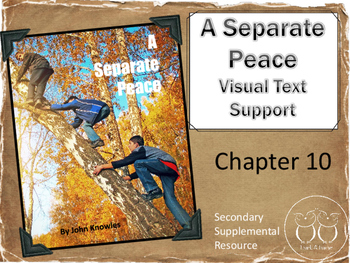 A Separate Peace: Chapter 10 Visual Text Support