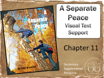 A Separate Peace: Chapter 11 Visual Text Support