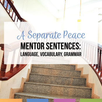 Mentor Sentences and Vocabulary for A Separate Peace