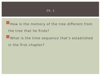 A Separate Peace: PP for Ch. 1 and 2 Discussion Questions
