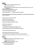 A Separate Peace - Study Guide w/ Vocabulary