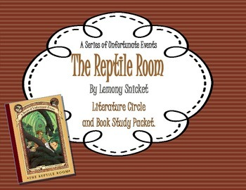 """A Series of Unfortunate Events: The Reptile Room"" Study/L"