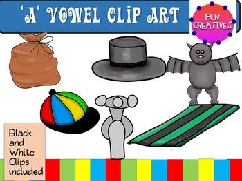 A Short Vowel Clip Art