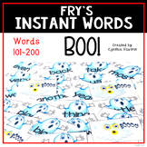 A Sight Word Game Named Boo