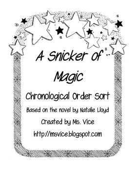 A Snicker of Magic Chronological Order Sort