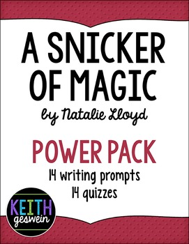 A Snicker of Magic Power Pack:  14 Writing Prompts and 14 Quizzes
