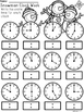 A+ Snowman Analog Clock & Digital Clock Work (Hour & Half Hour)