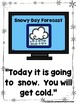 A Snowy Day Report  (A Sight Word Emergent Reader and Teac