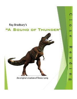 "Ray Bradbury, ""A Sound of Thunder"" Close Reading Lesson"