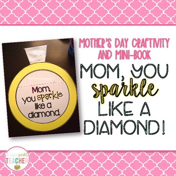 A Sparkly Mother's Day Craft and Writing Activity