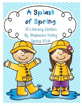 A Splash of Spring - Literacy Centers