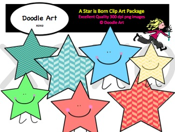 A Star is Born Clipart Pack