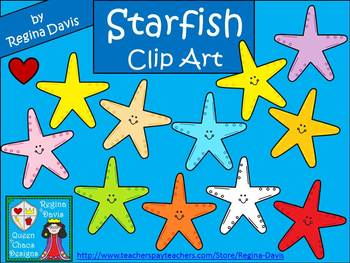 A+ Starfish Commercial Clip Art