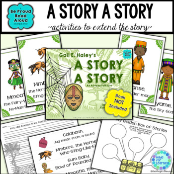Folktale Activities: A Story, A Story: An Ananse Tale from