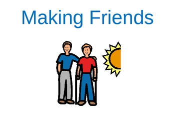 A Story on Making Friends