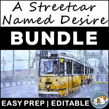 A Streetcar Named Desire Activity Mini Bundle
