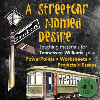 A Streetcar Named Desire Unit Plan, Worksheets, PowerPoint
