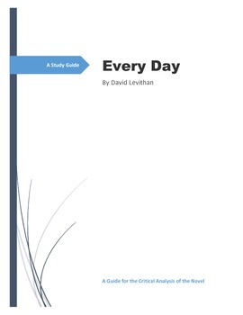 A Study Guide for Every Day by David Levithan