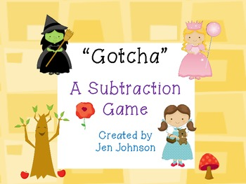 A Subtraction Game- Gotcha