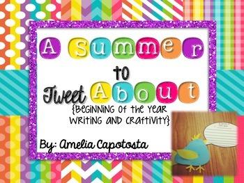 A Summer to Tweet About {Craftivity}