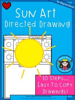 A+ Sun Art: Directed Drawing