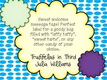 A Sweet Welcome Back To School!