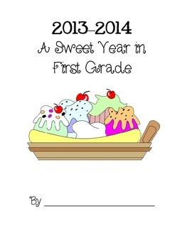 A Sweet Year Memory Book