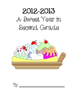 A Sweet Year Memory Book - Second Grade