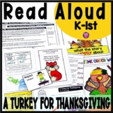 A TURKEY FOR THANKSGIVING CLOSE READING SET