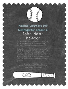 A Take-Home Reader for National Journeys Lesson 21