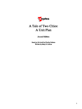 A Tale of Two Cities Lesson Plan