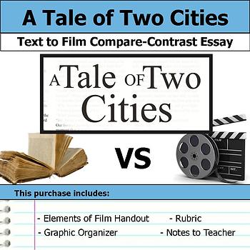 A Tale of Two Cities - Text to Film - Compare and Contrast